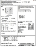 Interpreting and Using Real World Graphs & Tables Exam