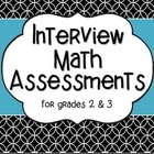 Interview Assessments for Math {3rd grade}