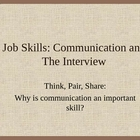 Interview Skills: Communication