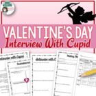 Interview with Cupid - Valentine&#039;s Day Writing Activity
