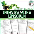 St. Patrick's Day Writing Activity - Interview With a Leprechaun