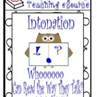 Intonation - Whoooo Can Read the Way They Talk?
