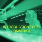 Intro to E-Commerce