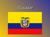 Intro to Ecuador PowerPoint