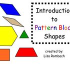 Intro to Pattern Block Shapes Math SmartBoard Lesson Prima