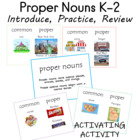 Intro to Proper Nouns k-1