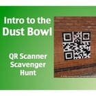 Intro to the Dust Bowl: QR Scanner Scavenger Hunt (on iPads!)