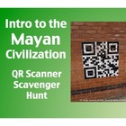 Intro to the Mayan Civilization:  QR Scanner Scavenger Hun