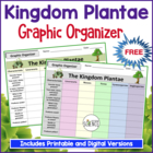 Intro to the Plant Kingdom Graphic Organizer
