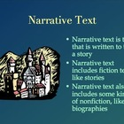 Introducing Informational, Narrative, Persuasive, and Poetic Text