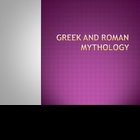 Introduction:  Greek and Roman Mythology