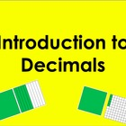 Introduction to Decimals PowerPoint by Kelly Katz