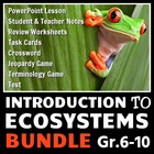 Introduction to Ecosystems - LESSON BUNDLE {Editable}