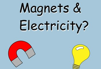 Introduction to Electromagnets - Smartboard Lesson