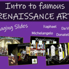 Introduction to Famous Renaissance Art