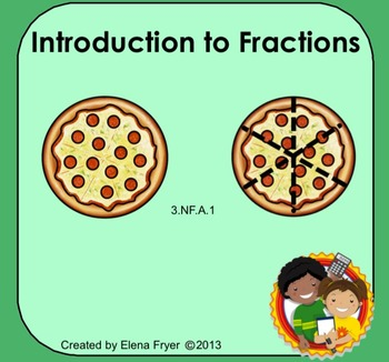 Introduction to Fractions - Common Core 3rd Grade 3.NF.1