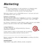 Introduction to Marketing and Market Research - Overhead a