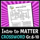 Introduction to Matter - Crossword