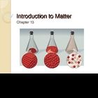 Introduction to Matter Power Point Presentation