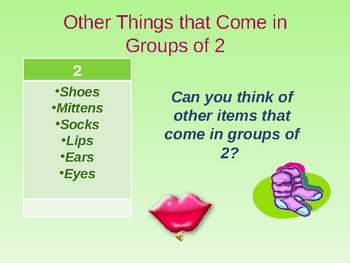 Introduction to Multiplication: Things that Come in Groups