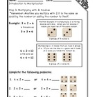 Introduction to Multiplication Workbook Steps 3 & 4: Multi