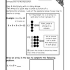 Introduction to Multiplication Workbook Steps 5 & 6: Multi