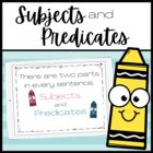 Introduction to Subjects and Predicates