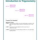 Introduction to Trigonometry Lesson Plan