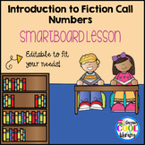 Introduction to Fiction Call Numbers SmartBoard Lesson - E