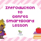 Introduction to literary genres SmartBoard lesson