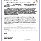 Introductory Letter to Parents/Guardians