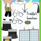 Inventions of Benjamin Franklin Clip Art