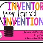 Inventor and/or Biography Research Brochure with Example a