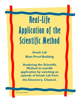 Investigating Scientific Method Using Smash Lab: Blast Pro