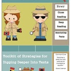 Investigating Texts... Toolkit of Strategies for Digging D