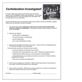 Investigating the Colonies in Canada's Confederation