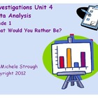 Investigations Math 1st Grade Unit 4