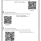 Ipad2 QR Scan Code Activity