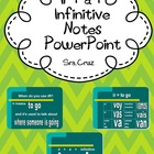 Ir and Ir + a + infinitive Notes PPT