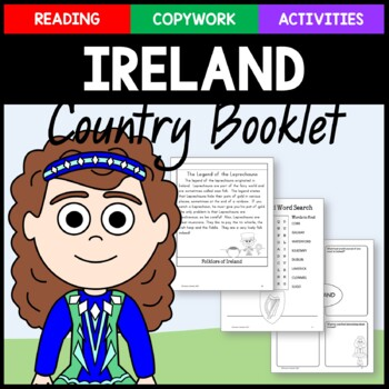 Ireland Copywork and Activities