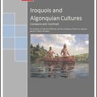 Iroquois and Algonquian Cultures Lesson Plan and Activities