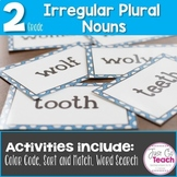 Irregular Nouns: 3 Activities