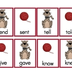 Irregular Past Tense Verbs- Matching Card Game