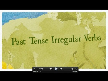 Irregular Past Tense Verbs - Quick Time Movie