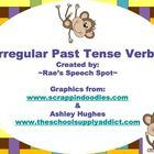 Irregular Plural Nouns & Irregular Past Tense Bundle Pack-