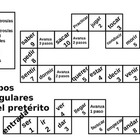 Irregular Preterite Verb Board Game