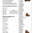 Irregular Spanish verbs - quick reference guide