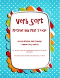 Irregular Verb Sort: Present and Past Common Core Lit Center