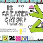 Is it greater Gator? A Math Freebie