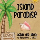 Island Paradise {Ocean & Beach Themed Organization & Decor}
